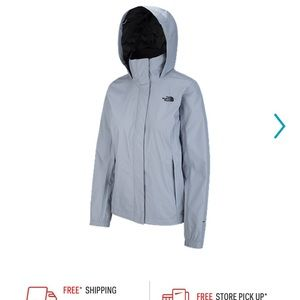 The north face all weather jacket (men's small)